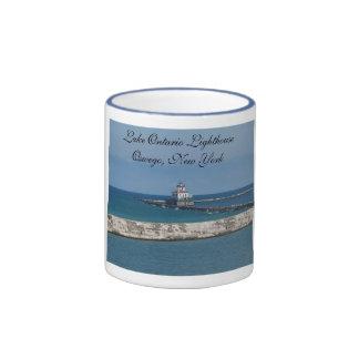 Faro Oswego, nuevo Yo del lago Ontario… Tazas De Café