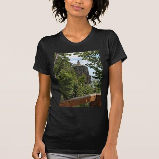 Faro partido 2 de la roca camisetas