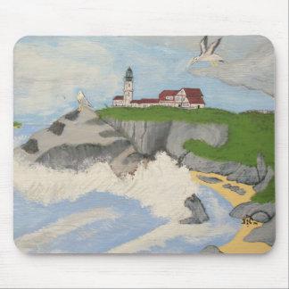Faro por el mar MousePad