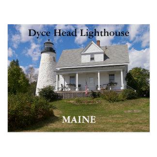 Faro principal de Dyce, postal de Maine