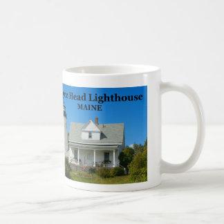 Faro principal de Dyce, taza de Maine
