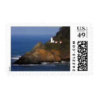 Faro principal de Heceta, cala del cabo, Oregon, Timbres Postales
