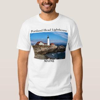 Faro principal de Portland, camisa de Maine
