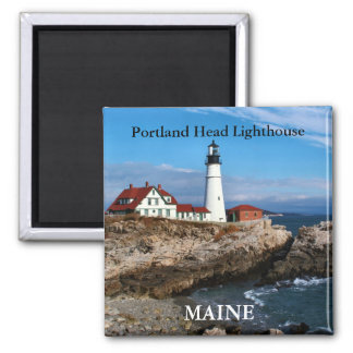 Faro principal de Portland, imán de Maine