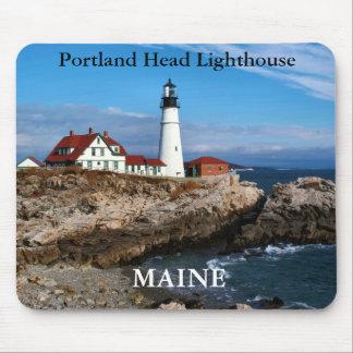 Faro principal de Portland, Maine Mousepad