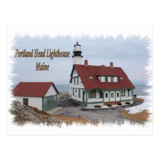 Faro principal de Portland - Maine Postales