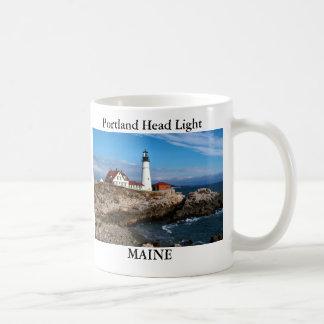 Faro principal de Portland, taza de Maine