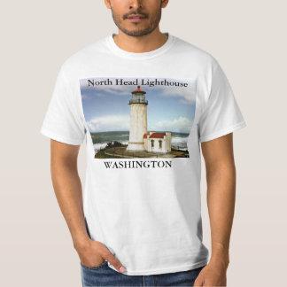 Faro principal del norte, camiseta de Washington Camisas