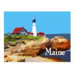Faro principal Maine de Portland Postal