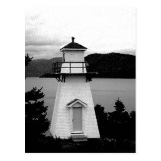 Faro, punto de Woody, NL, Canadá Tarjeta Postal