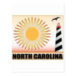 Faro Sun de Carolina del Norte Postal