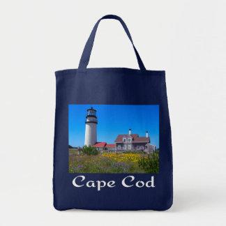 Faro Totebag de la montaña de Cape Cod Bolsa Tela Para La Compra