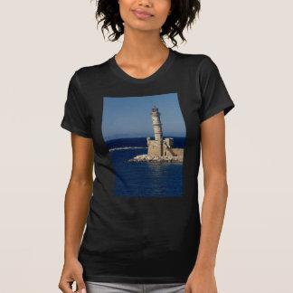 Faro veneciano Xania Creta Grecia Camiseta