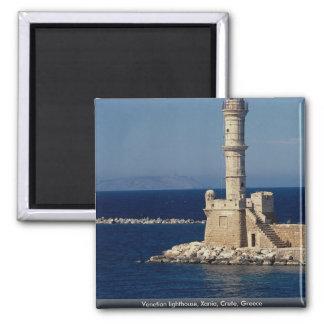 Faro veneciano Xania Creta Grecia Imanes