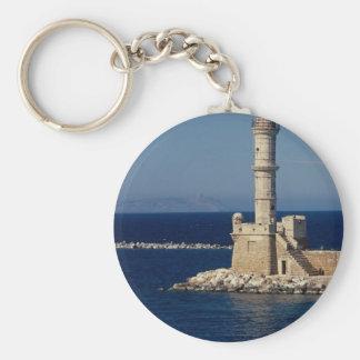 Faro veneciano Xania Creta Grecia Llaveros Personalizados