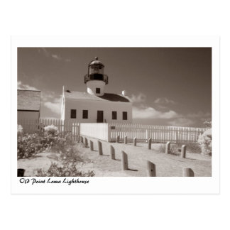 Faro viejo del Point Loma, II Postal