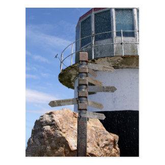 Faro viejo del punto del cabo, Suráfrica Tarjetas Postales