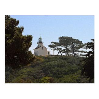 Faro visto del monumento de Cabrillo Postales