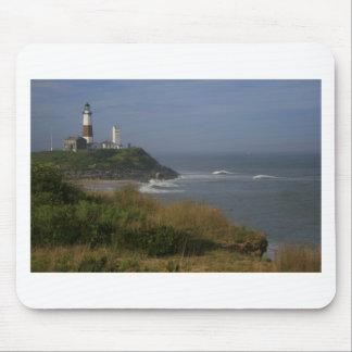 Faro y acantilados de Montauk Tapete De Ratones