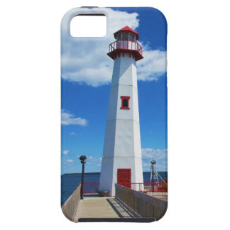 Faro y embarcadero funda para iPhone SE/5/5s