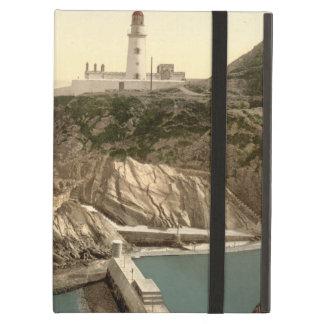 Faro y ensenada del baño, Douglas, isla del hombre