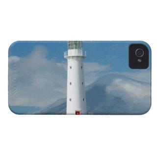 Faro y Mt Taranaki/Mt de Egmont del cabo Case-Mate iPhone 4 Fundas