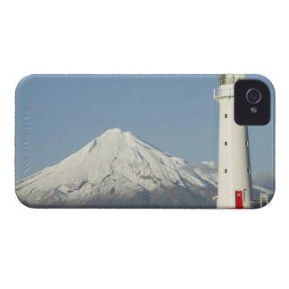 Faro y Mt Taranaki/Mt de Egmont del cabo Case-Mate iPhone 4 Carcasas