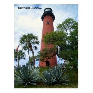 Faro y museo Júpiter la Florida de la entrada de Postales