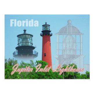 Faro y museo, la Florida de la entrada de Júpiter Postal