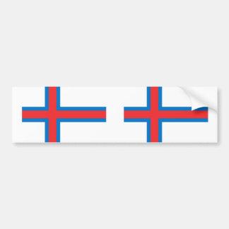 Faroe Island, Groenlandia Etiqueta De Parachoque