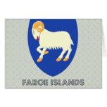 Faroe Islands Coat of Arms Greeting Card