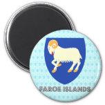 Faroe Islands Coat of Arms Magnets