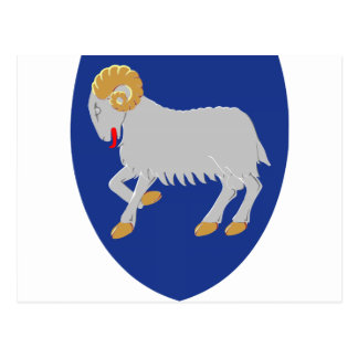 Faroe Islands Denmark Coat of Arms Post Cards