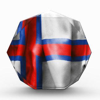Faroe Islands Flag Acrylic Award