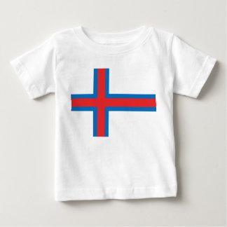 Faroe Islands Flag Baby T-Shirt