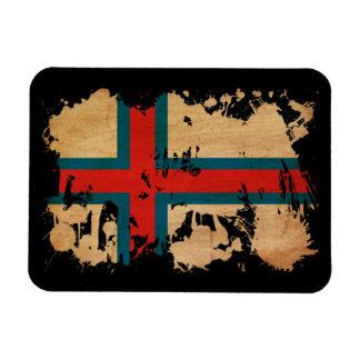 Faroe Islands Flag Flexible Magnet
