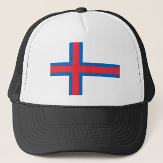 Faroe Islands Flag FO Trucker Hat