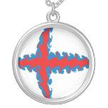 Faroe Islands Gnarly Flag Jewelry