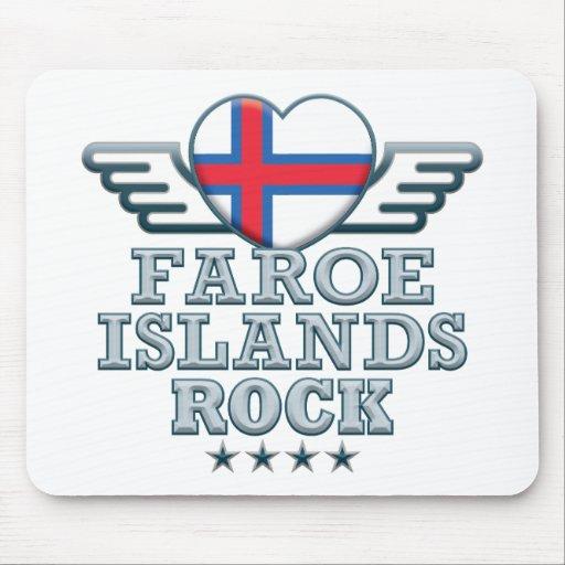 Faroe Islands Rock v2 Mousemats