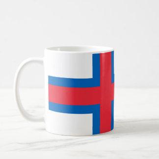 Faroese flag mug