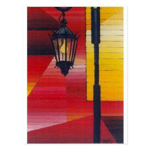Farol (lámpara de Boca del La) Postal