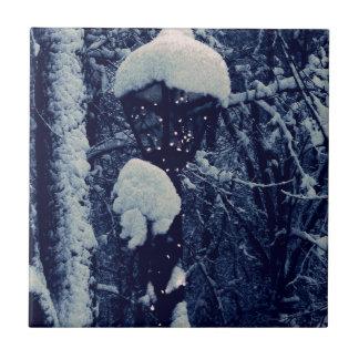 Farola Nevado Azulejo Cuadrado Pequeño