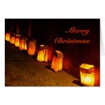 Farolito (Luminaria) Christmas Walk Cards
