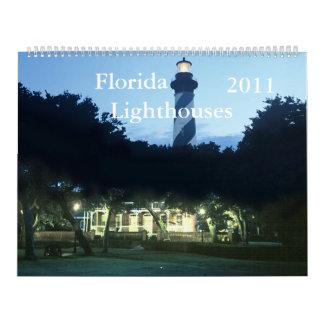 Faros 2011 de la Florida Calendarios De Pared