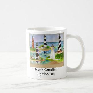 Faros de Carolina del Norte Taza Clásica