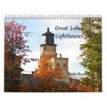 Faros de los Great Lakes Calendarios