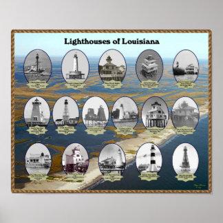 Faros de Luisiana Póster