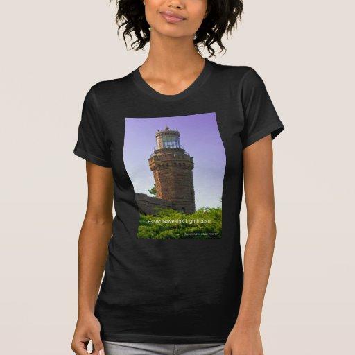 Faros de New Jersey Camisetas