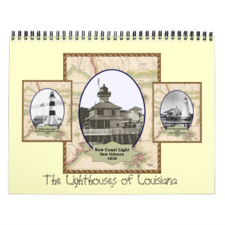 Faros del calendario de Luisiana