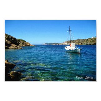 Faros- Sifnos Photo Print